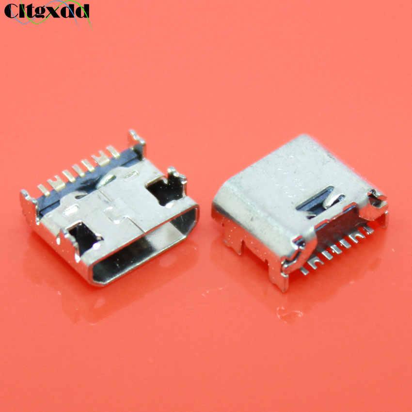 1 pièces Micro Mini prise USB connecteur 7 broches femelle Port de charge pour Samsung Galaxy Core Prime G360 G361F Tab E T560 T561