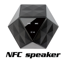 Touch Sound With NFC Bluetooth Speaker Home Bluetooth Speaker Mini Speaker Outdoor Radio Speakerith Mic TF Card MP3 Player