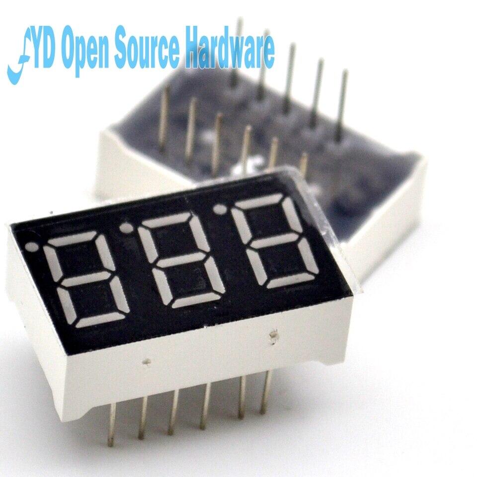 5pcs Digital Tube 3bit 3 Bit Common Cathode 0.56