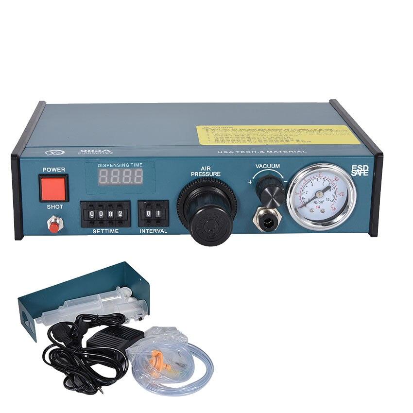 Nuovo Arrivo di CNC Distributore di YCL-983A 220 v/110 v, 50 hz/60 hz, digitale Automatico Distributore di 0.05MPa-0.99MPa, 0.0001 ml, 800 volte/minNuovo Arrivo di CNC Distributore di YCL-983A 220 v/110 v, 50 hz/60 hz, digitale Automatico Distributore di 0.05MPa-0.99MPa, 0.0001 ml, 800 volte/min