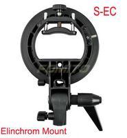 Godox S Type S EC Speedlite Bracket Elinchrom Mount for Flash Softbox HoneyComb for canon for nikon camera flash light