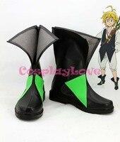 The Seven Deadly Sins Nanatsu no Taizai Meliodas Cosplay Shoes Boots Custom Made For Halloween Christmas Festival CosplayLove