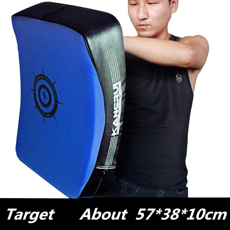 57*38*10cm Big Strike Shield kick pads MMA punching mitts Taekwondo boxing Foot Target Boxing Hand padded curved training pad house of steel padded leather mitts черные перчатки для подвешивания