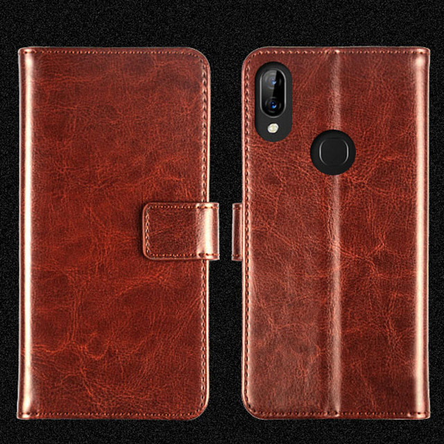 G Pierves Flip Leather Wallet Cover Silicone bumper TPU Case For Lenovo S5 Pro K5 Note Play Z5 K320t K520