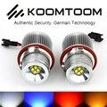 40 W LED Ângulo Olhos Halo Xenon Marcador Bulb Canbus Para BMW E87 E60 E61 E63 E64 E65 E66 E53 E83 X3 X5 E39 LEVOU Angel Eyes luz