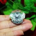 Diamond Shape Acrylic Knob clear Crystal Drawer Dresser Pulls Knobs Jewelry Box Pull Hanle Kitchen Cabinet Knobs