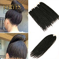 6 piece 30 Strands Crotchet Braids Ombre Kanekalon Braiding Hair Crochet Braids Box Braids Hair Extensions Senegalese Twist Hair