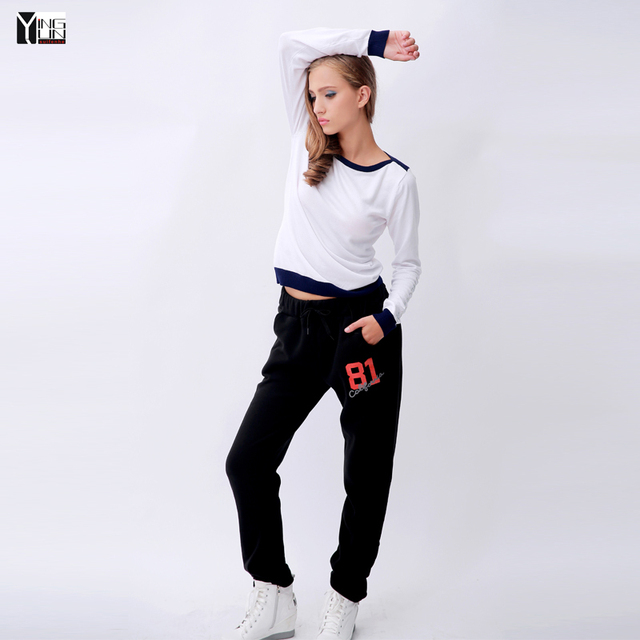 2015 new fashion women's casual pants Loose Trousers Casual Pants female Sweatpants Pant Trousers Joggers Capris Free size H-016