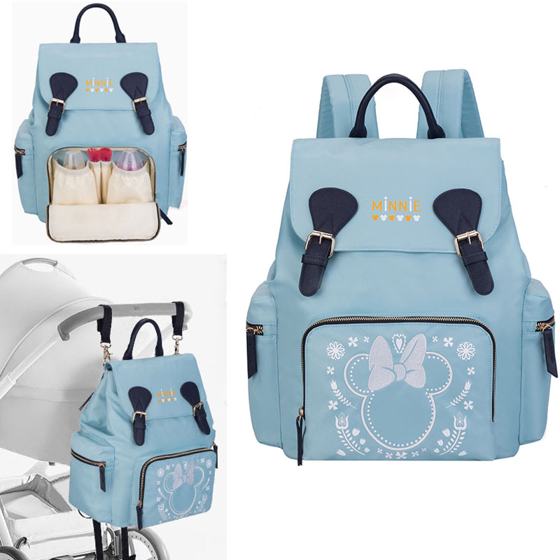 Disney Diaper Bag for Mommy Nappy Backpack Women Maternity Travel Luiertas Stroller Baby Infant Organizer to Care Changing BagsDisney Diaper Bag for Mommy Nappy Backpack Women Maternity Travel Luiertas Stroller Baby Infant Organizer to Care Changing Bags