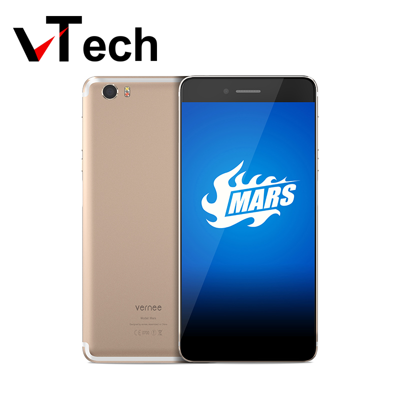 Original Vernee Mars MTK6755 Octa core Android 6 0 Mobile Phone 5 5 Inch Fingerprint Cell
