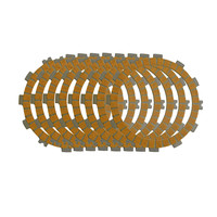 Motorcycle Clutch Friction Plates Kit Set For KAWASAKI KXF250 KXF 250 2008 2010 Paper Based Clutch
