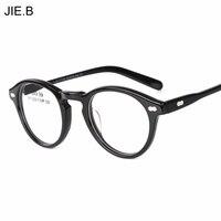 2017 Rocznika Ramki Okularów kobiet okularów mężczyzn clear lens armação okrągłe okulary Optyczne Szkło gafas óculos de grau feminino