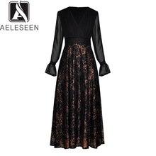 드레스 미디 레이스 드레스