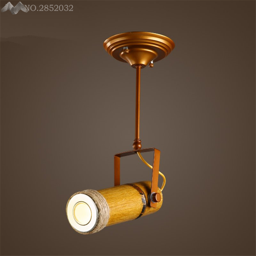 Modern industrial retro track ceiling lamps bamboo ceiling lights modern industrial retro track ceiling lamps bamboo ceiling lights for living room clothing cafe bar lighting fixture decoration in ceiling lights from aloadofball Choice Image