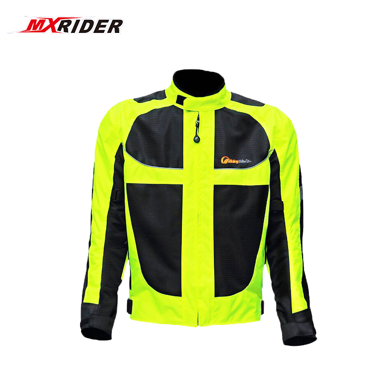Motorcycle jacket men Summer Moto Protective Gear Jacket men Racing Reflective oxford clothing Motorbike jackets