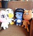 1 pc 38 cm coreano kkao amigo ryan leão coelho muzi apeach neo cat tubo con pato de pelúcia brinquedo de pelúcia boneca crianças novidade romântica