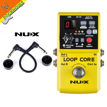 NUX loop core  Multi Modulation Effects such as elay echo reveberation chorus flanger phase and so on free shipping