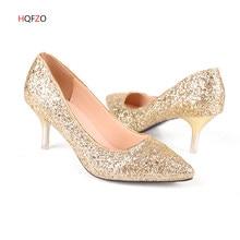 Hqfzo Wanita Pumps Extrem Seksi Sepatu Hak Tinggi Wanita Bride Sepatu Tipis  Sepatu Hak Wanita Sepatu Pernikahan Sepatu Sliver Em.. 87d9ebfd89