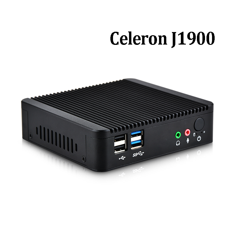 mini pc x86 intel celeron j1900 quad core dual lan mini. Black Bedroom Furniture Sets. Home Design Ideas