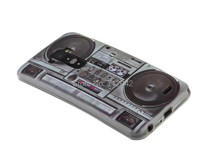 Estuche de teléfono con cubierta de gel de TPU suave con impresión - Accesorios y repuestos para celulares - foto 3