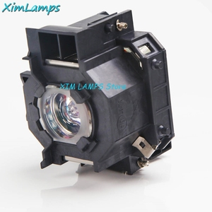 Image 3 - V13H010L41 Projector Lamp with Housing For Epson PowerLite S5 / S6 / 77C / 78, EMP S5, EMP X5, H283A, HC700
