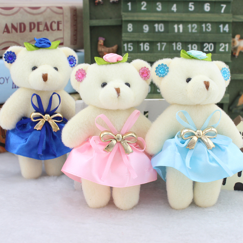 12pcs adorable teddy bear gift baby shower party favor birthday party supply kids return gift girl