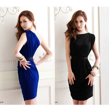 Women one shoulder dress One Shoulder Tight Dress High Stretch Elegant Short Daily Outfit Solid Celebrity Party
