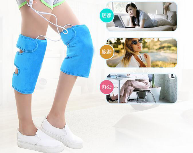 Heating Therapy Kneading Vibrating Knee Massage Moxibustion Electrical Leg Belt Gloves Joint Arm Massager Infrared Relief Pain electric knee massager belt leg knee joint moxa moxibustion hot compress rheumatism leggings field heating kneepad support brace
