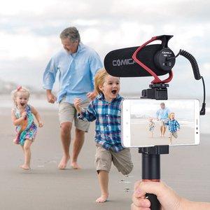 Image 5 - Comica V30 לייט/Sairen Q1 קול הקלטת מיקרופון Shotgun מיקרופון Vlog ראיון מיקרופון אוניברסלי עבור iPhone אנדרואיד Smartphone DSLR