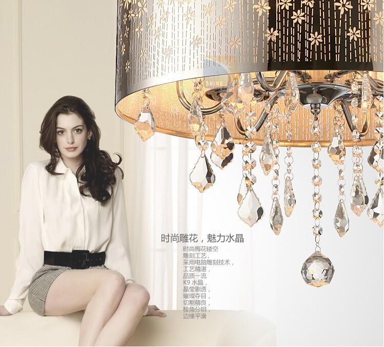ceiling crystal lamp-4