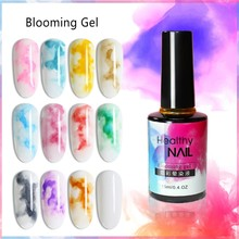 Blossom Nail Gel Polish 7/12ML Design Of Gels Semi Permanent UV Lamp Soak Off Blooming Nail Lacquer Polish Nail Art Manicure(China)