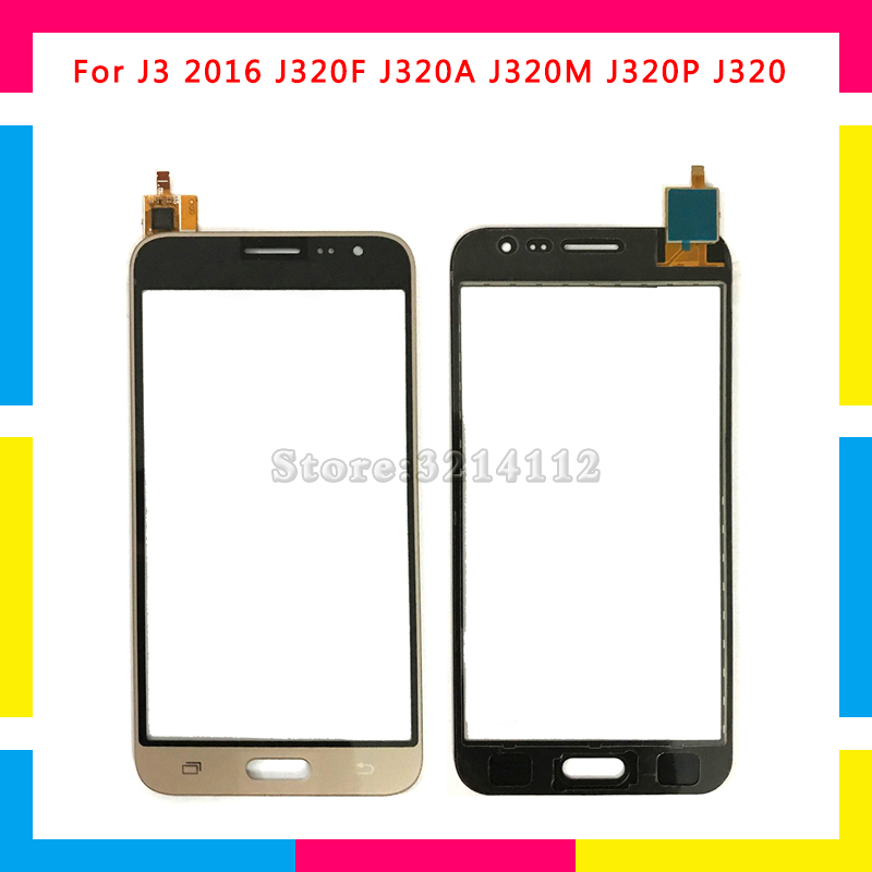 Replacement Touch Screen Digitizer Sensor Outer Glass Lens Panel For Samsung Galaxy J3 2016 J320F J320A J320M J320P J320
