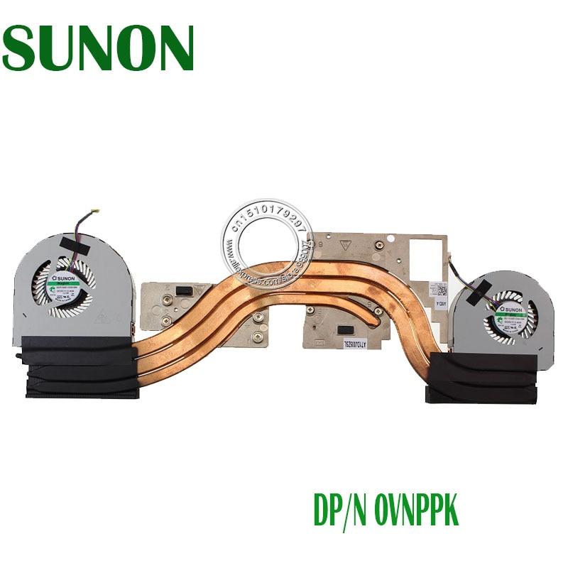 New Original radiator for Dell Precision 7710 M7710 heatsink cooling fan cooler 0VNPPK EG75150V1 C030 S9A