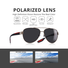 AOFLY Fashion Polarized Pilot Sunglasses Men Women Brand Designer Driving Sun Glasses For Men/Wome Vintage Shades Oculos de sol