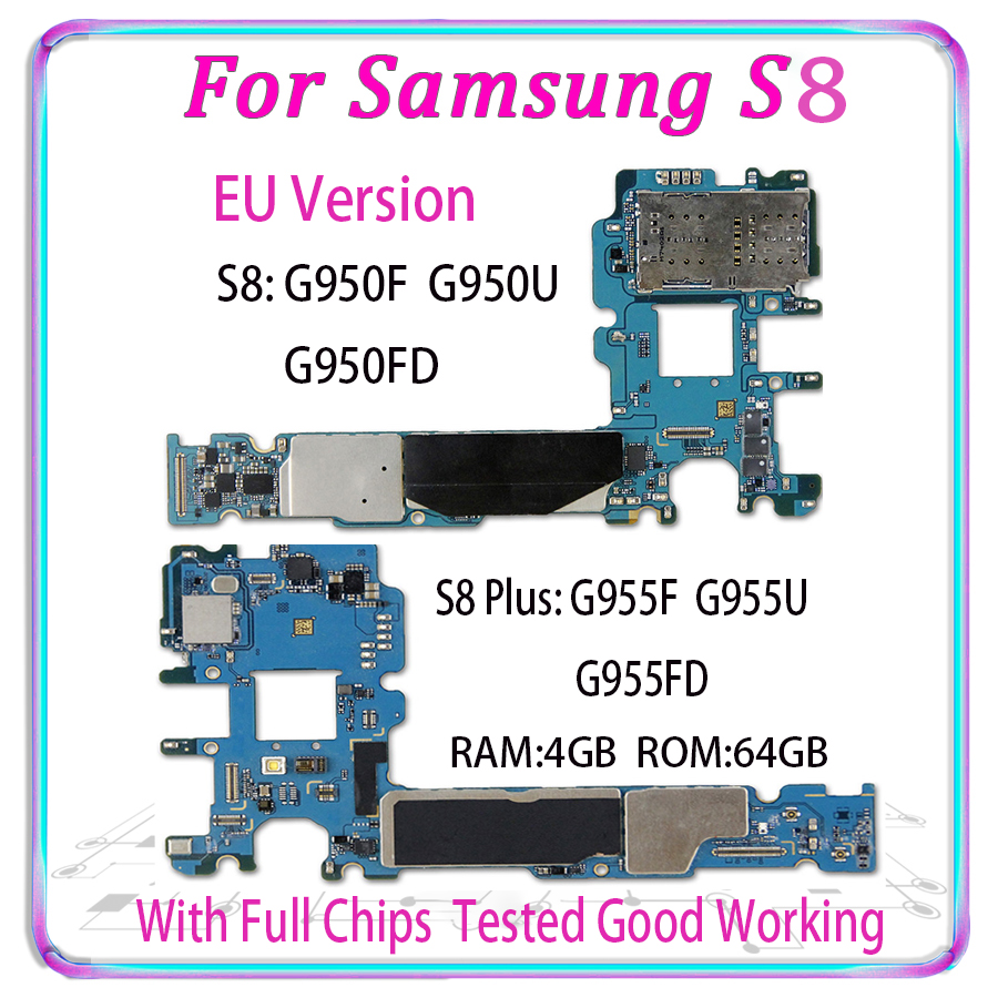 Original Unlocked For Samsung Galaxy S8 Plus G955FD G950FD