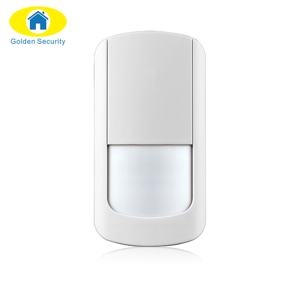 Golden Security 433Mhz Wireless PIR Sensor Motion Detector For Wireless Wifi Home Security Alarm Systems G90B no battery golden security lpg detector wireless digital led display combustible gas detector for home alarm system