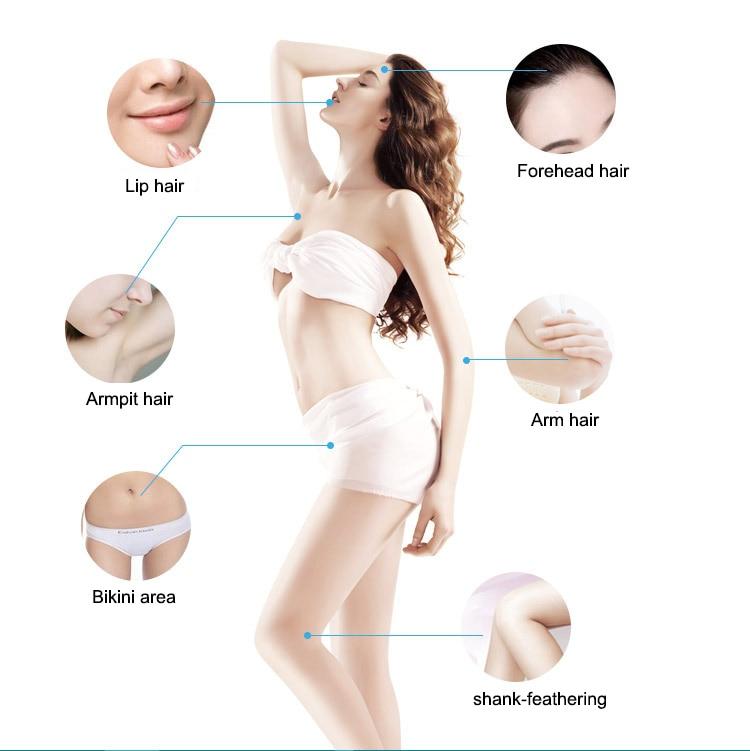 Permanent Hair Removal Laser Epilator Home Lazer Shaving Depilador Wholde Women Depilador Laser