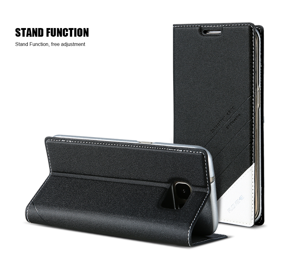 Magnetic Flip Leather Case For iPhone 5 6 7 Plus Card Slot Cover S8 BOB (10)