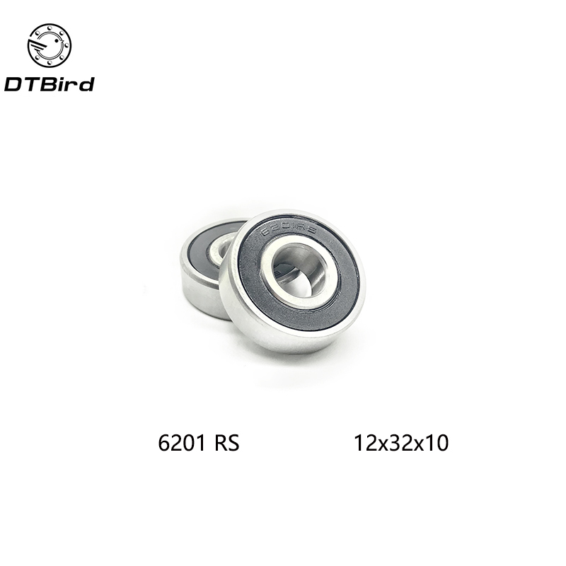 6201RS Shielded Deep Groove <font><b>Ball</b></font> <font><b>Bearing</b></font> <font><b>32mm</b></font> x 12mm x 10mm free shipping image
