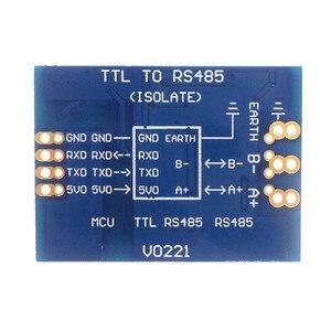 Image 3 - ADUM3201 + B0505XT TTL do RS485 moduł izolacji ADUM5401 485 do TTL na białym tle 485 izolacji moduł komunikacyjny RS485 moduł