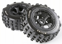 Rovan 1/5 Scale RC Car BAJA Parts Rear Knobby Wheel Tyres KM RV HPI Baja 5T/ 5SC LOSI 5ive t DBXL 195*80MM NEW
