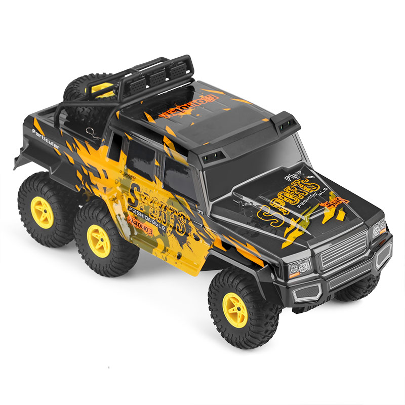 New Arrival RC Car 1:18 6WD Climbing Cars High Speed with 10KM/h Off Road Racing Toys Radio Electric Rock Rover for Kids Gift