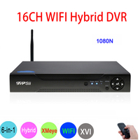 720 P/960 P/1080 P Dahua панель камеры скрытого видеонаблюдения 1080N16CH 6 in1 Wi Fi гибрид коаксиальный XVI NVR CVI TVi аналоговая камера высокого разрешения, сист