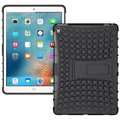 """Luxury Hybrid Silicon Stand Shell For Apple iPad Pro 9.7"""" Heavy Duty Shockproof Dual Layer Rugged Armor Back Phone Case Cover"""