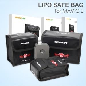 Image 1 - Sunnylife Bolsa de seguridad LiPo a prueba de explosiones, bolsa de almacenamiento protectora de batería para Dron DJI MAVIC 2 PRO y ZOOM