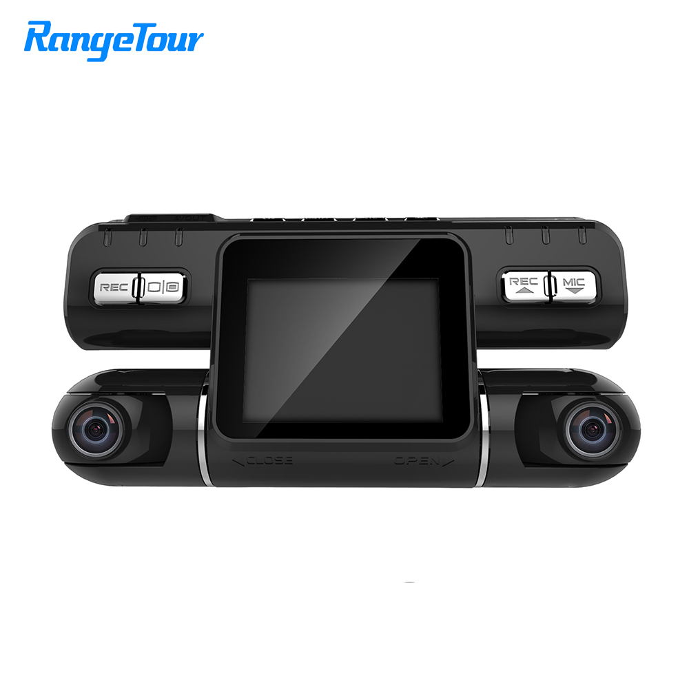Range Tour i4000 Car DVR Camera Dual Lens Dash Video Recorder Full HD 1080p 320 Degree Dashcam 2.0