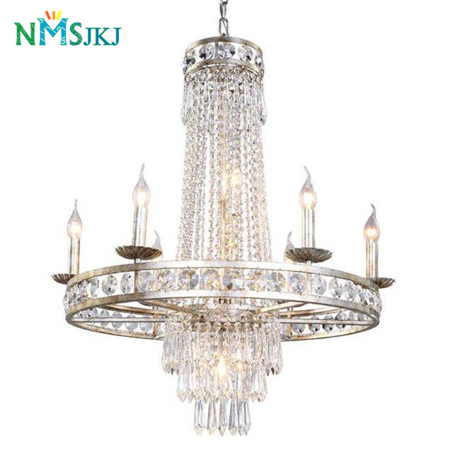American Vintage LED Crystal Pendant Lights Individual Design For - Individual pendant lights