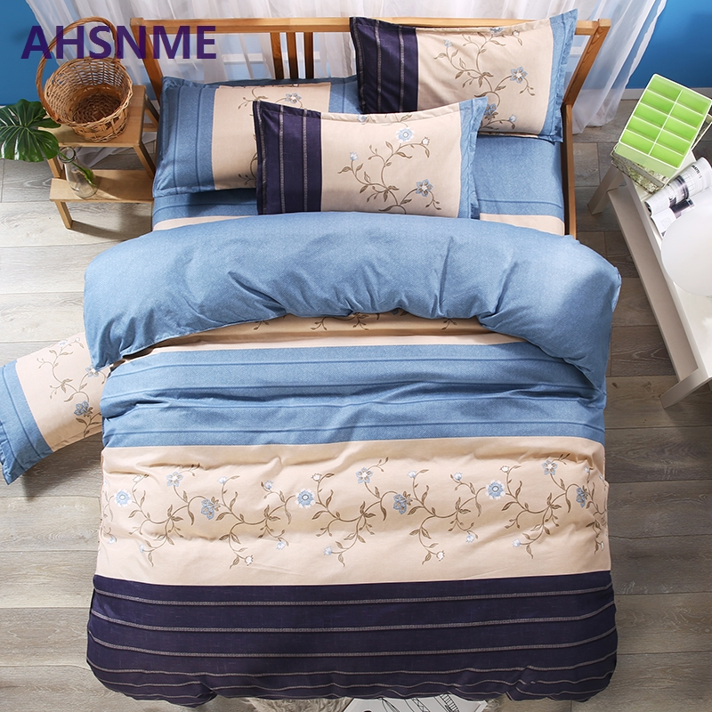AHSNME Cool Blue Totem Betting set King Quenn Full Double Twin Single Duvet Cover set