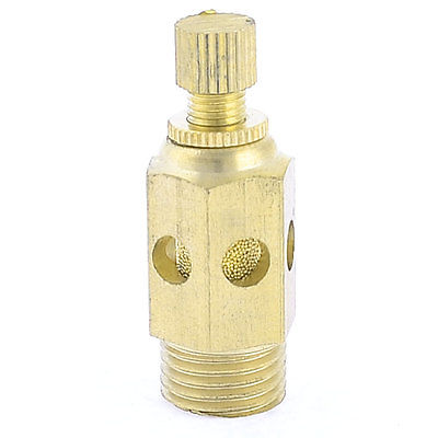 1/4 PT Male Thread Pneumatic SC Quick Exhaust Muffling Throttle Valve 3 x adjustable 1 4 pt thread sc sintered bronze exhaust muffler throttle valve