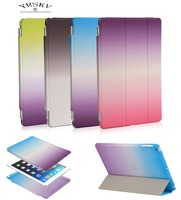 For Ipad Pro 9 7 A1673 1674 A1675 For One Color Design Rainbow Stage Intelligent Wake